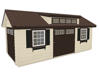 Click To Build Template B for Craftsman Shed