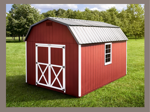 Lofted Barn Sheds