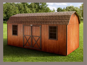 Side Lofted Barn Sheds