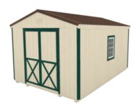 Click To Build Template A for Utility Shed