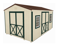 Click To Build Template C for Utility Shed