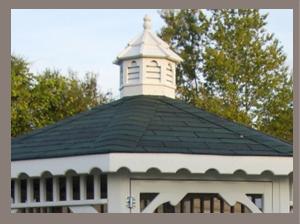 Gazebo Shingle Roof