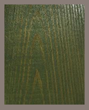 Moss Green 5003 Stained Finish