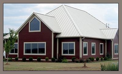 Residential Metal Roofing Applications
