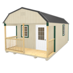 Click To Build Template A for Lofted Barn Cabin