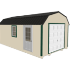 Click To Build Template A for Lofted Garages