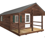 Click To Build Template for Log Cabins
