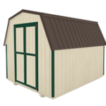 Click To Build Template A for Utility Barn Sheds