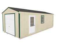 Click To Build Template A for Utility Garages