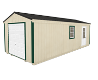 Click To Build Template B for Utility Garages