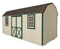 Click To Build Template A for Side Lofted Barn Shed